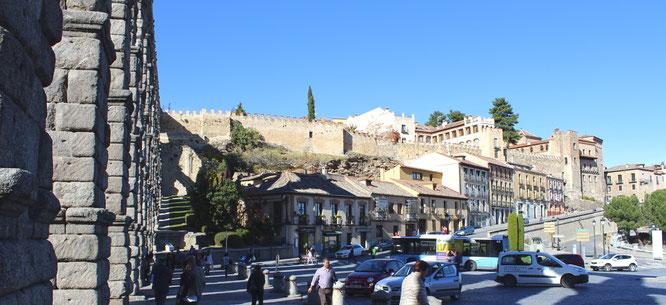 Acueducto y calle de San Juan