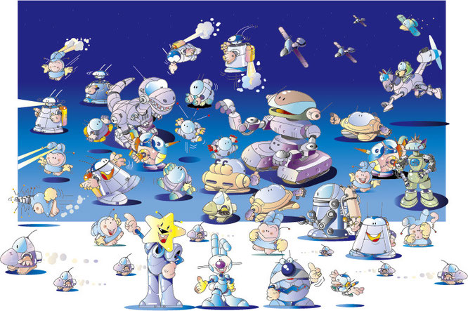 キャラクター ロボット