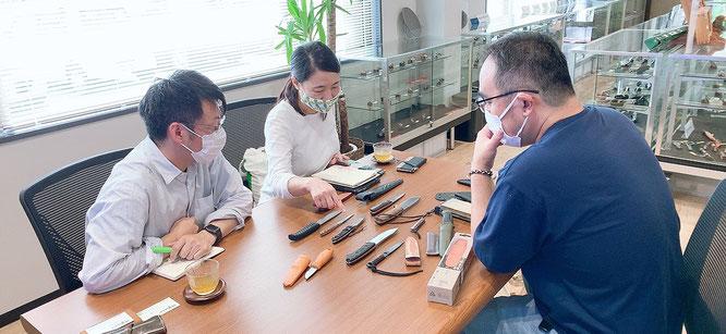 ぶうめらん編集長 北村隆幸さんと長瀬さん