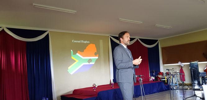 Keynote address at Naisula School, Kenya. September, 2018
