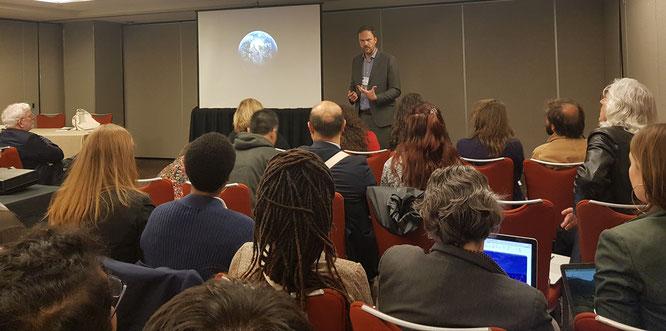 Panel discussion at CIES 2019, San Francisco