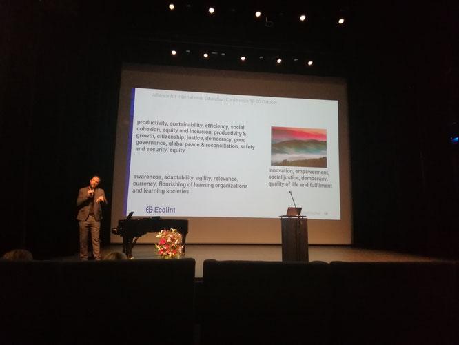 Alliance for International Education Keynote, Geneva 2019