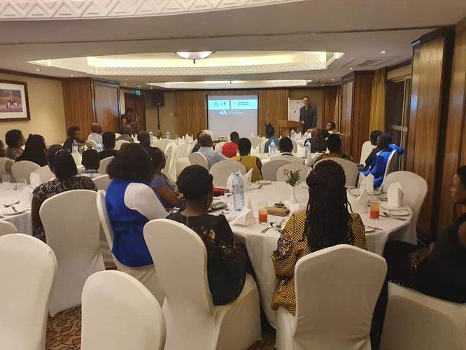 Lecture in Kampala, Uganda, September 2019