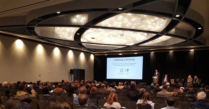 Plenary at CIES 2019, San Francisco