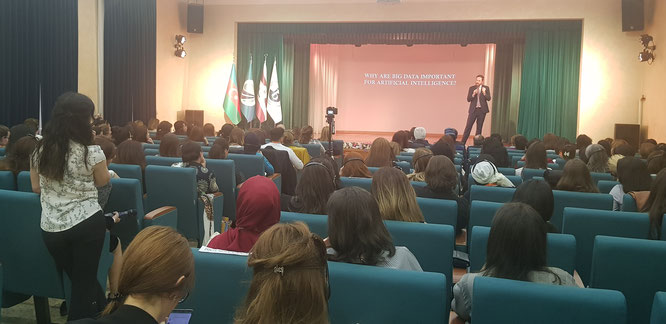 Keynote at 2019 International Education Forum, Baku, Azerbaijan