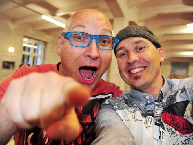 SELFie: Manfred Link und Andreas Ender