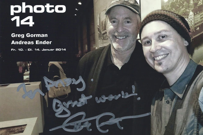 SELFie | signed: Greg Gorman & Andreas Ender, photo-art+painting