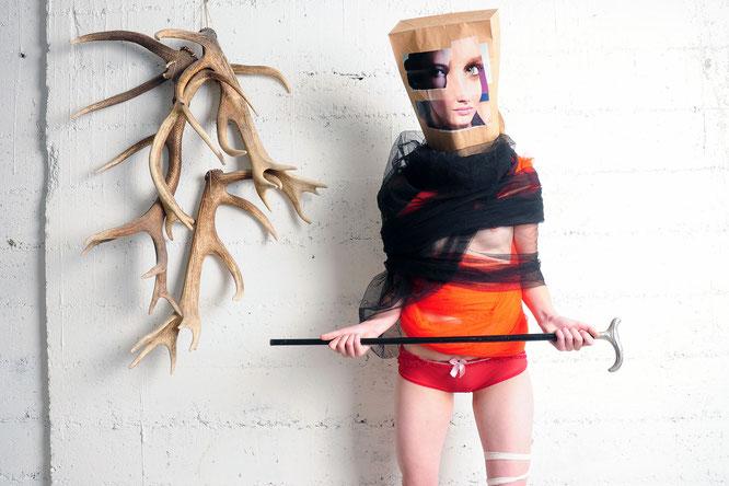 Foto & Konzept: Andreas Ender, photo-art+painting | Baggie #026/f - reBORN am 13-02-2010