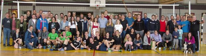 Die Teilnehmer des 6. Passauer Freizeitturniers