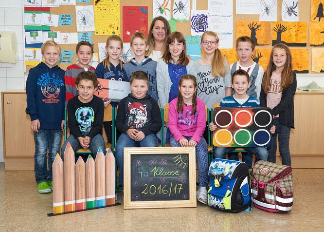 4a Klasse mit Klassenlehrerin Frau Sabine Thalhammer (Foto Schober)