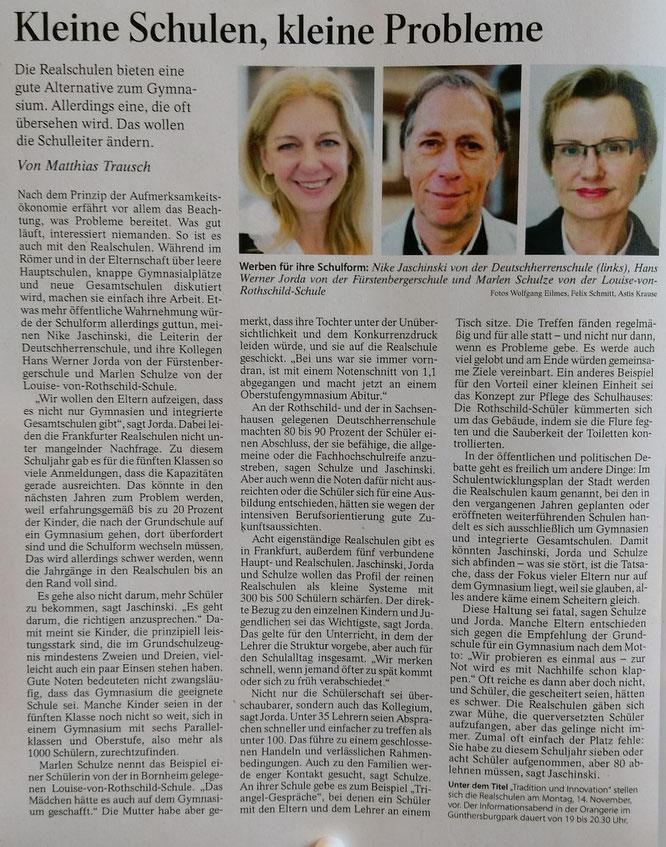 aus: Frankfurter Allgemeine Zeitung vom 01. November 2016 (Zum Vergrößern anklicken)