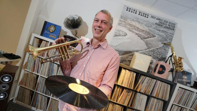 Peter Durek von Jazz Dreams HiFi Berlin - Schallplatten, Plattenspieler, Verstärker, Lautsprecher, Kabel und Zubehör, Reparaturservice