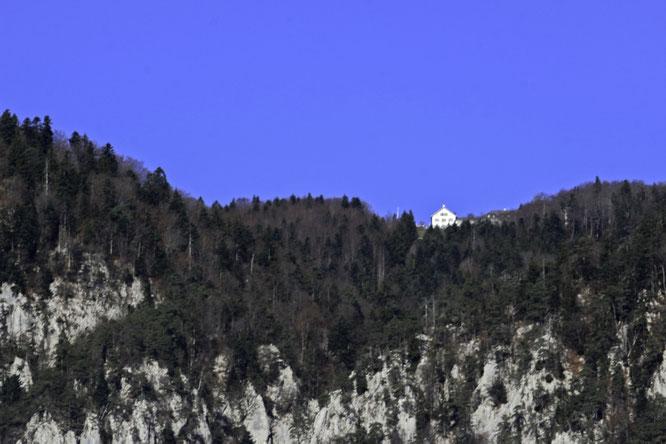 S' Kurhuus Wiisseschtei, wär s'Ziihl vo de hüürige Chriesilöchler Schuelreis vom 20. Auguscht gsii.