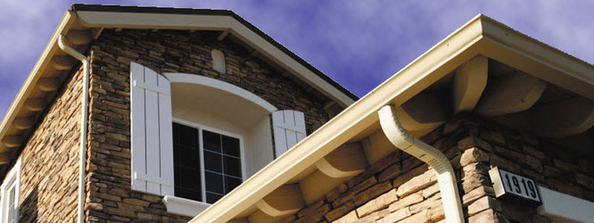 Custom seamless gutters