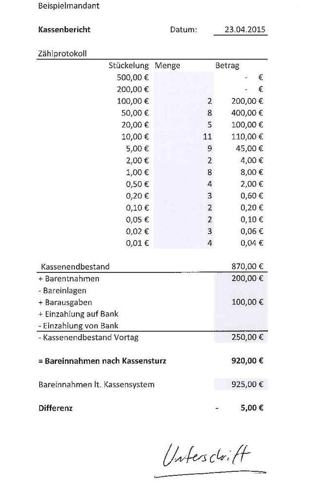 Kassenführung - Der Buchhalter e.V.