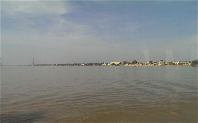 mekong fluss kambodscha, bus saigon nach Phom Penh