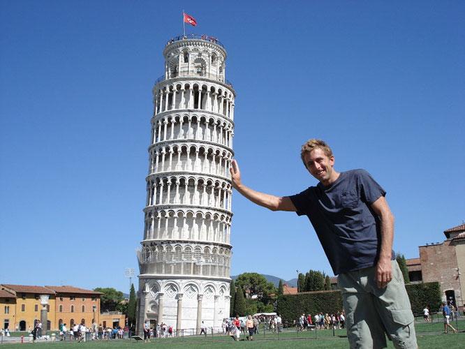 斜 塔 の ピサ