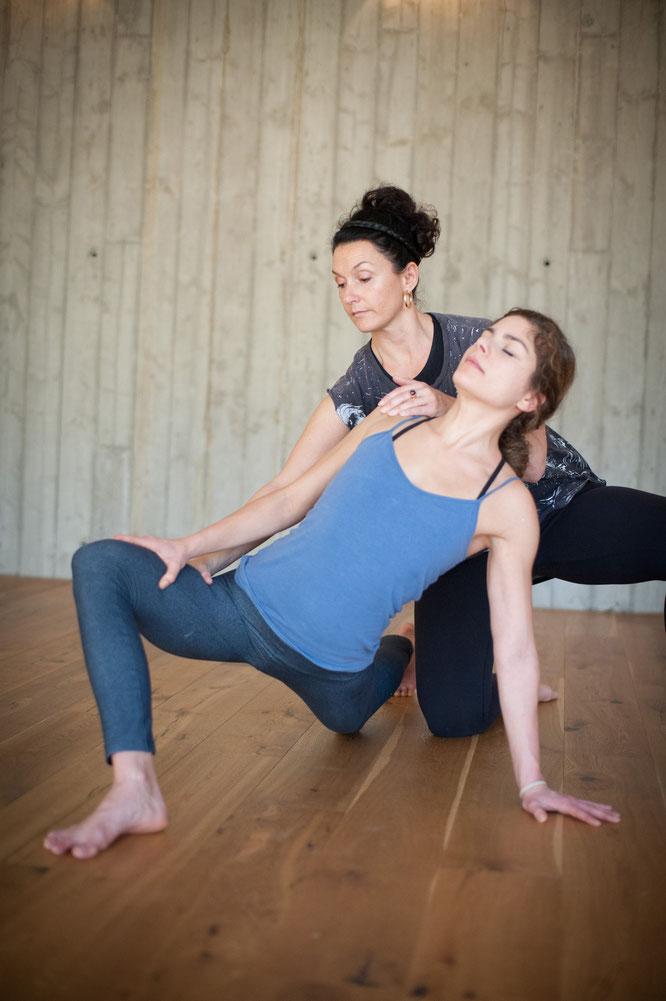 Yogalehrerin, Yoga-Mama und Hotel-Chefin Dörte Kubatzki im Interview mit dem Mama Yoga Blog MOMazing.