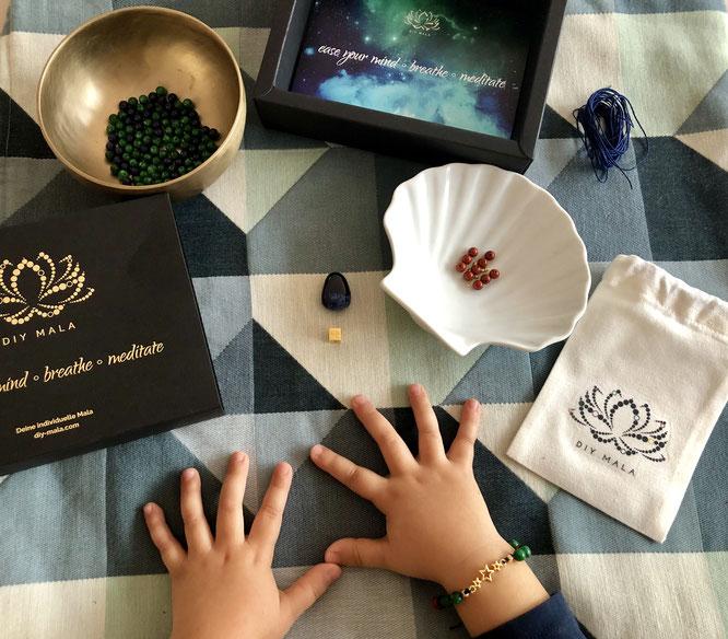 DIY Mala für Kinder: Geschenk-Tipp auf MOMazing – Das Mama Yoga Love Mag