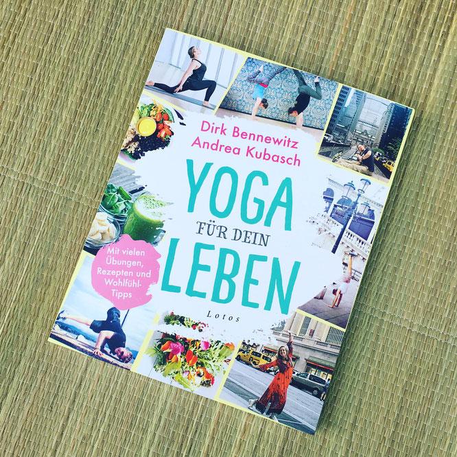Buchvorstellung auf dem Mama Yoga Blog MOMazing: Yoga für dein Leben von Dirk Bennewitz und Andrea Kubasch.