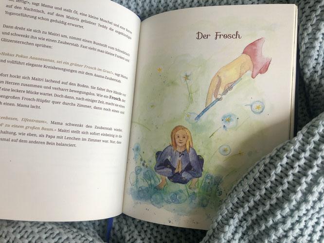 Yoga, Mond und Sterne: EIne Gutenacht Geschichte / Buch-Tipp auf MOMazing – Das Mama Yoga Love Mag