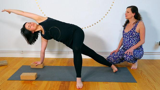 Mama Yoga Blog MOMazing testet das online Yogaprogramm für Schwangere von YogaEasy.de - Mamasté Prenatal Yoga für Schwangere.