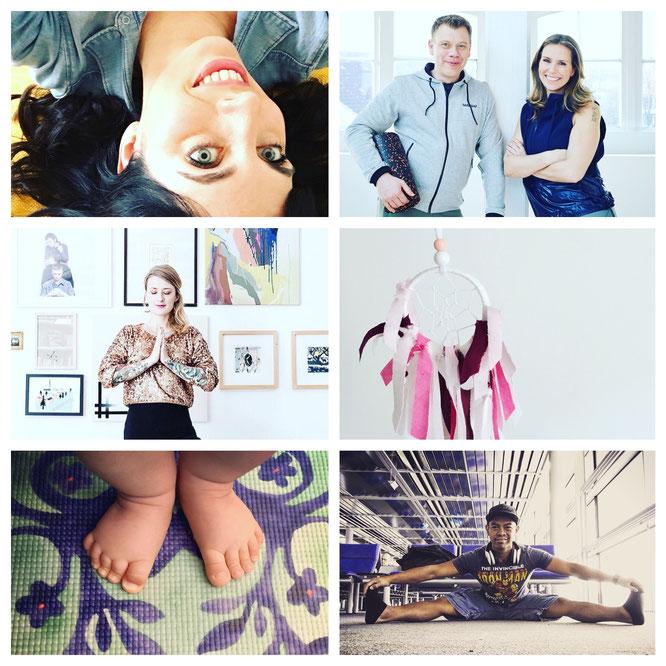 Die sechs beliebtesten Artikel und Interviews auf dem Yoga Mama Blog MOMazing.