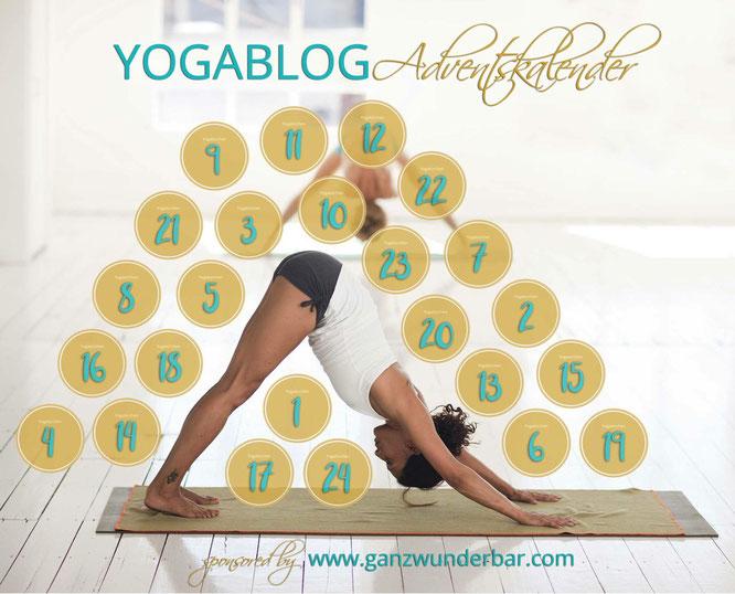 Yogablog-Adventskalender von Ganzwunderbar.com