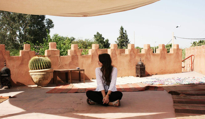 MOMazing City Guide Marrakesch: Anica Alla gibt Tipps für Reisen und Yoga in Marokko und Marrakesch mit Kind.