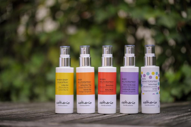 Mama Yoga Blog MOMazing empfiehlt Aromatherapie mit dem Little Om Mama-Baby-Yogaspray