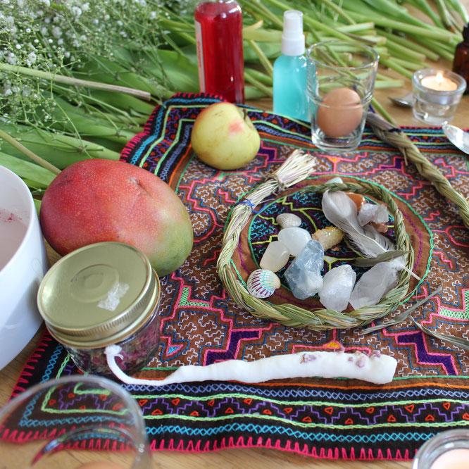Blessingway-Zeremonien für werdende Mamas