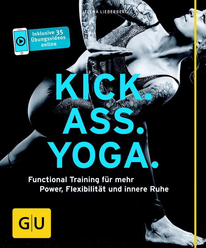 Yoga-Mama und Yogalehrerin Jelena Lieberberg und ihr Buch Kick.Ass.Yoga MOMazing Mama Mami Yoga Blog
