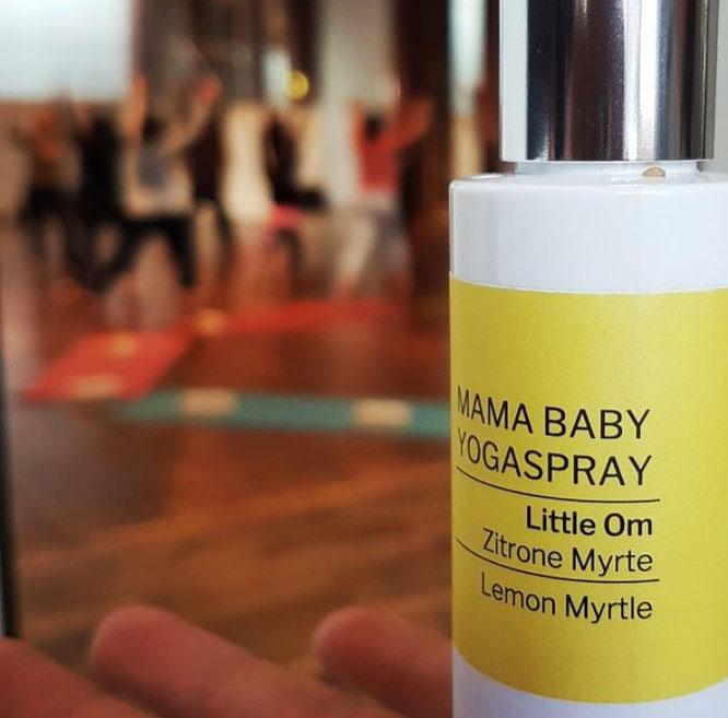 Little Om Bio-Aromaspray für Babys, Kinder und Mamas. Aromatherapie und Yogaspray auf dem Mama Yoga Blog MOMazing.