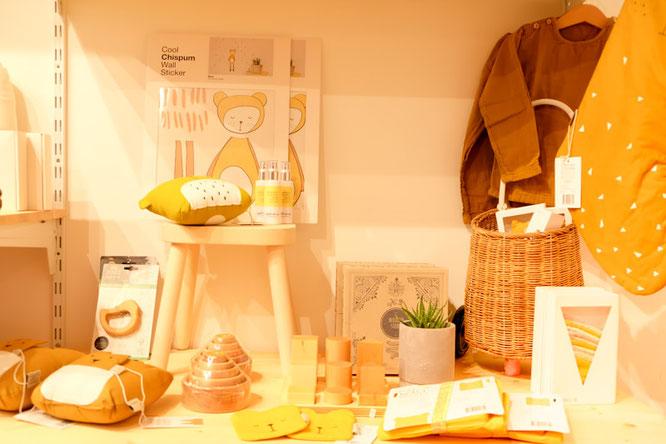 Concept Store A Mana Life in Berlin: Little Om Bio-Aromaspray für Babys, Kinder und Mamas.