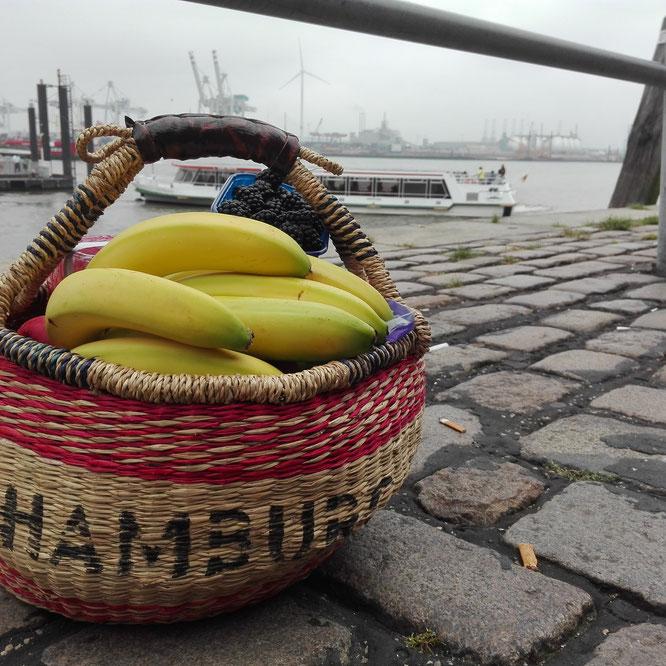 Fischmarkt Hamburg Obstkorb