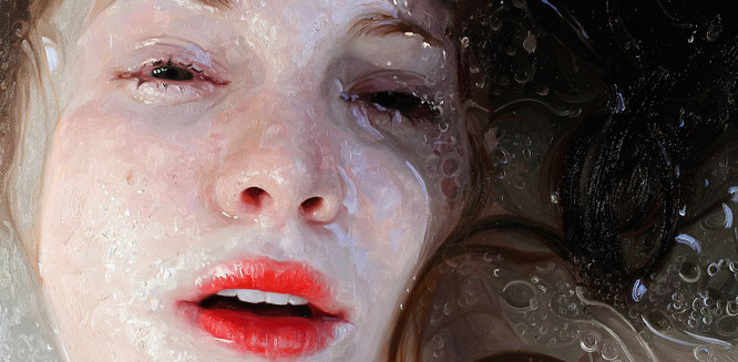 Pintura hiperrealista. Autor: Alyssa Monks