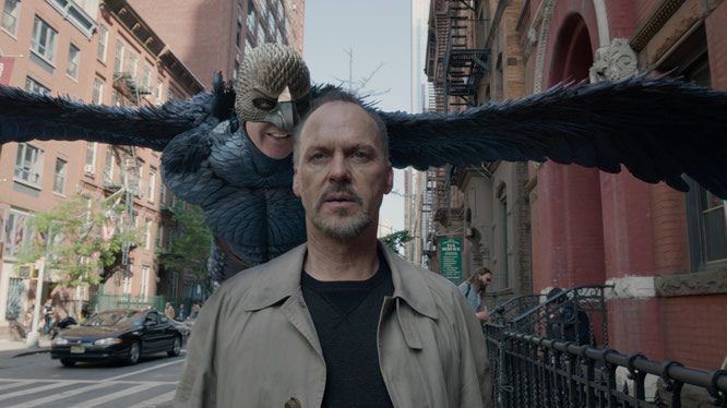 Escena de la película 'Birdman' de González Iñárritu.