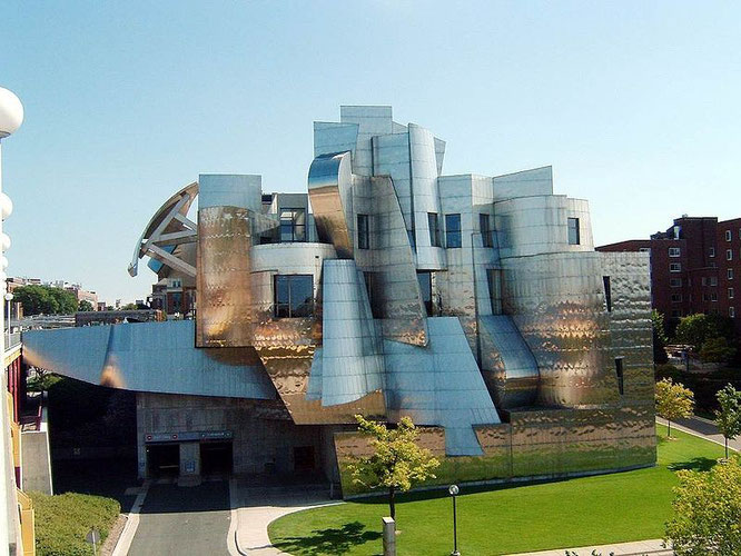 Museo de Arte Weisman, Minneapolis – Frank Gehry.