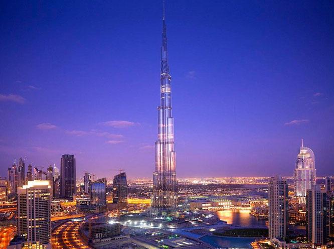 Burj Khalifa - Dubái