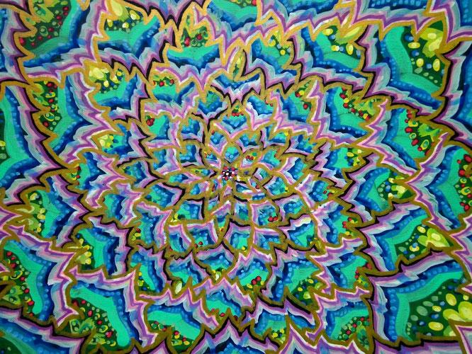 Michael Garfield y el arte psicodélico. Autor: Michael Garfield