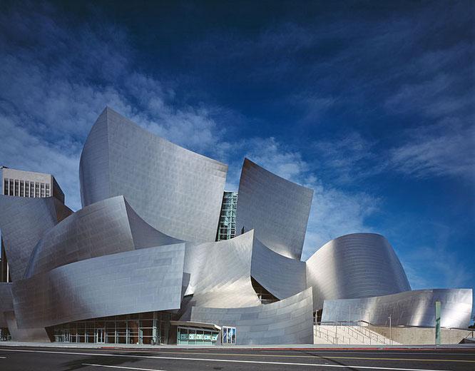 Sala de conciertos Walt Disney, Los Ángeles – Frank Gehry / Fuente: Carol M. Highsmith Archive.
