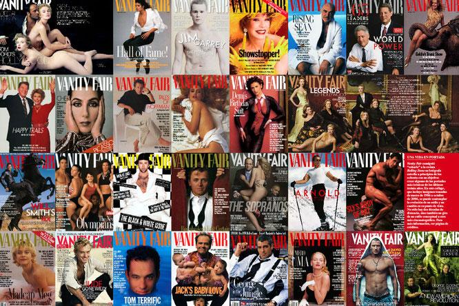 Fotografías de Vanity Fair realizadas por Annie Leibovitz.