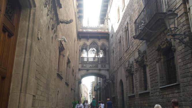 Barrio Gótico. Fotografía: Alejandro Méndez.