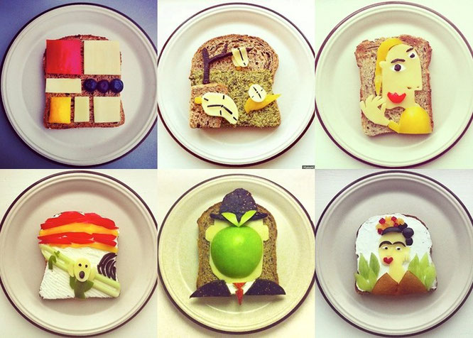 Arte en la comida, Ida Frosk.