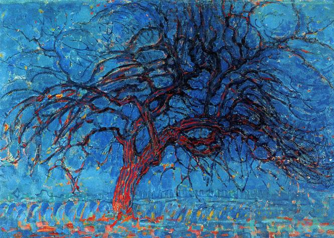 'Avond' - Piet Mondrian (1908)