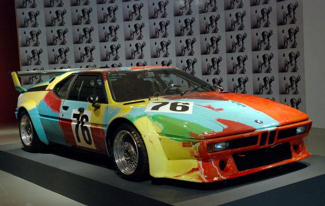 BMW pintado por Andy Warhol