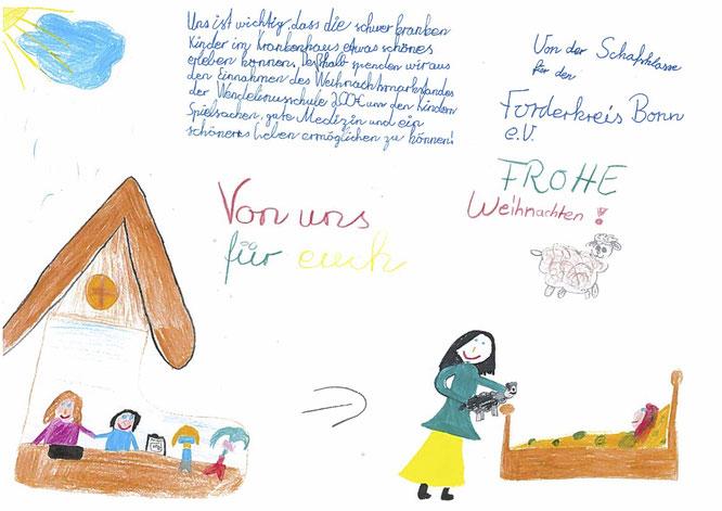 Spende Der Schafsklasse Der Wendelinusschule Bornheim