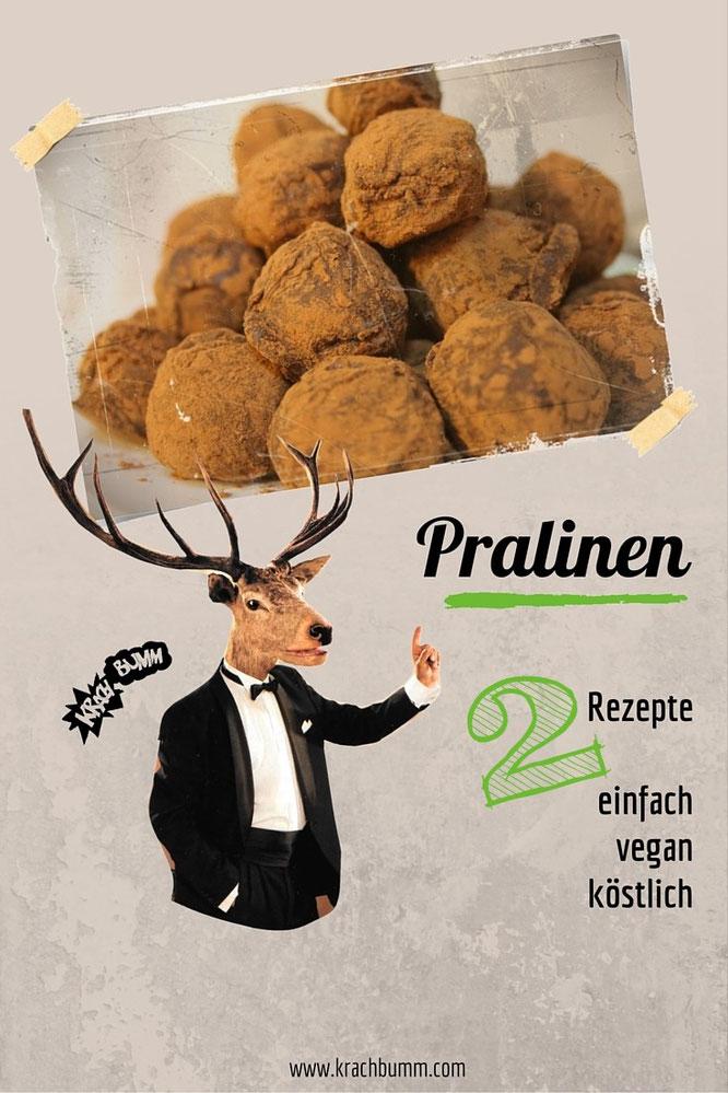 vegane Pralinen selbst machen - DIY © Katja Grach