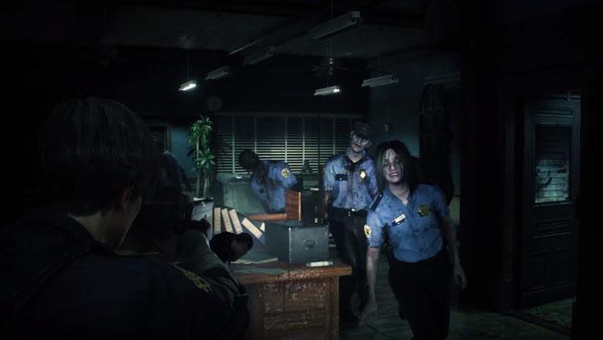 Resident Evil 2 - Remake zeigt sich im E3-Ankündigungstrailer! [PS4/XONE/PC]