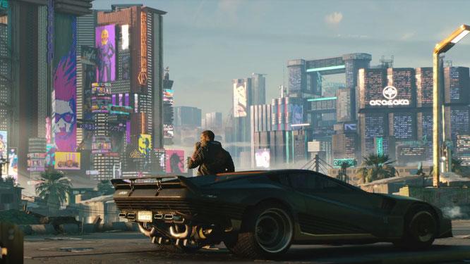 Cyberpunk 2077 - Offizieller E3 2018 Trailer zum Sci-Fi-Rollenspiel! [PLATTFORM NOCH NICHT BEKANNT]